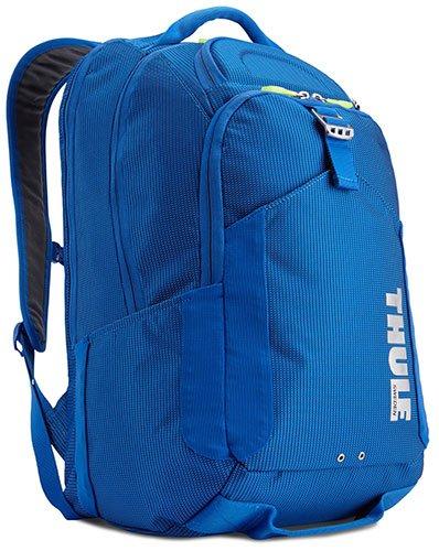תיק גב כחול דגם Crossover למחשב נייד 15